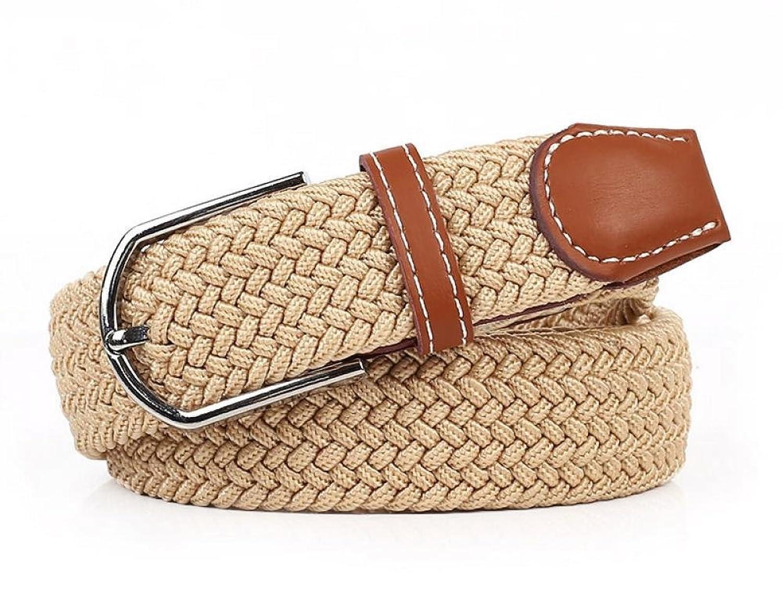 Womens Handmade Wide Adjustable Braided Leather Waist Belt Woven Belt Strap