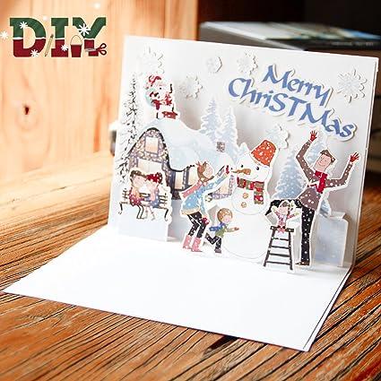 Pop Up 3D Tarjetas Paper Spiritz Tarjeta de Felicitación ...