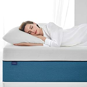 "Narrow Twin Size Mattress, Molblly 6 inch Cooling-Gel Memory Foam Mattress in a Box, Breathable Bed Mattress for Cooler Sleep Supportive & Pressure Relief, 30"" X 75"" X 6"""