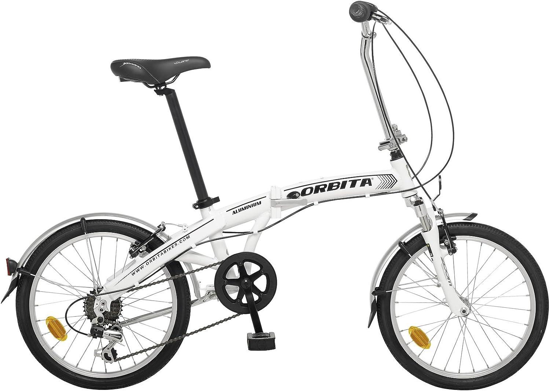 Bicicleta Plegable Orbita Articulada 7v Aluminio GB: Amazon.es ...
