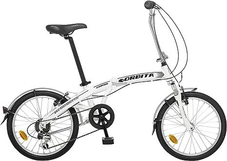 Bicicleta Plegable Orbita Articulada 7v Aluminio GB: Amazon.es: Deportes y aire libre