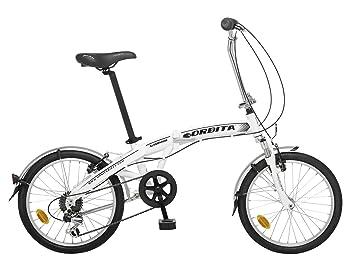 Bicicleta Plegable Orbita Articulada 7v Aluminio GB