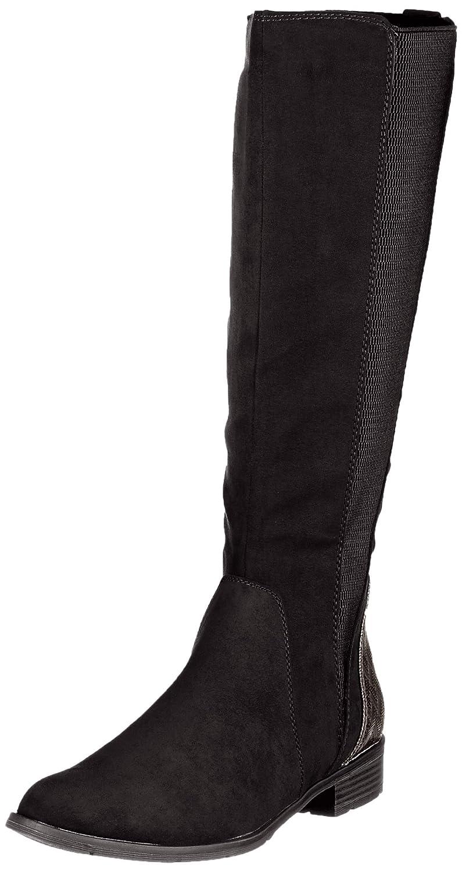 Schwarz(schwarz Comb 098) MARCO TOZZI Damen 25528-21 Hohe Stiefel