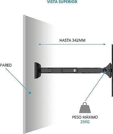 TM Electron TMSLC283 Soporte de pared universal inclinable ...