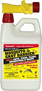 Summit Mosquito and Gnat Barrier Covers 10,000 Square Feet, 1/2 gallon