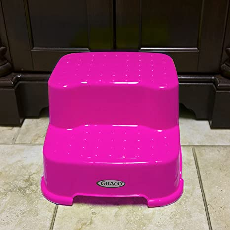 Incredible Graco Transitions Step Stool Pink Bralicious Painted Fabric Chair Ideas Braliciousco