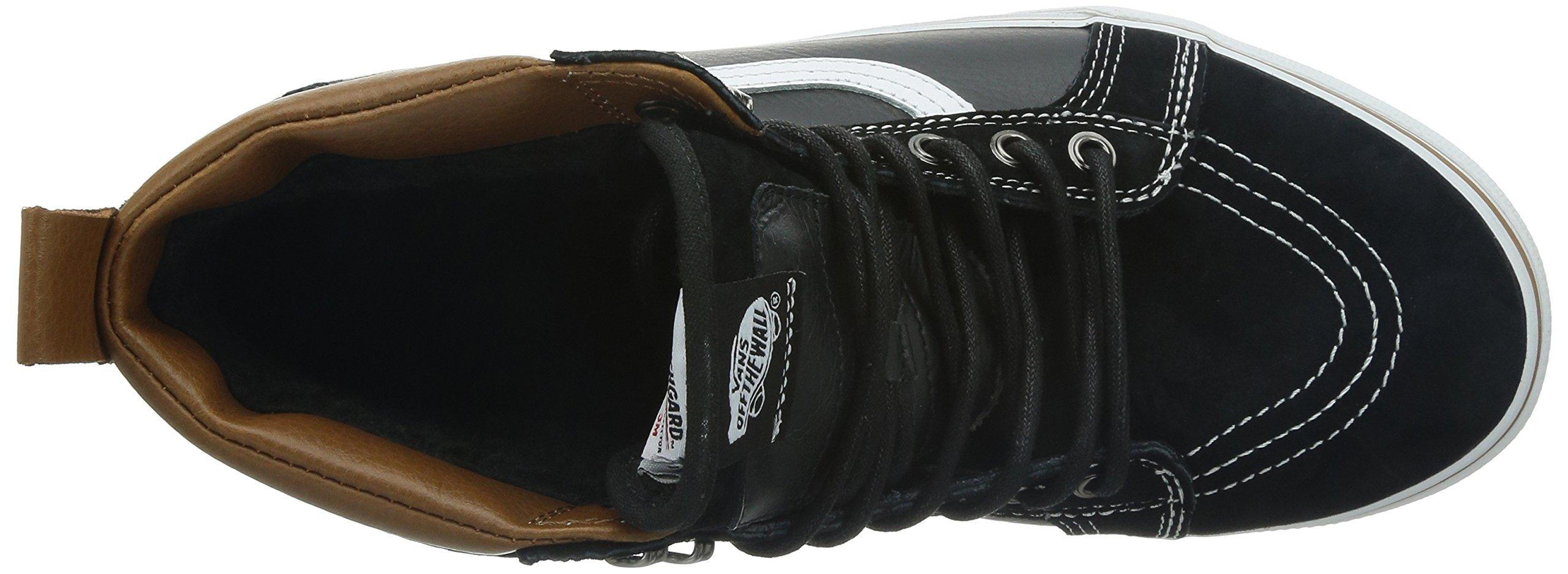 Vans Unisex Sk8-Hi MTE (MTE) Black/True White Skate Shoe 8.5 Men US/10 Women US by Vans (Image #8)