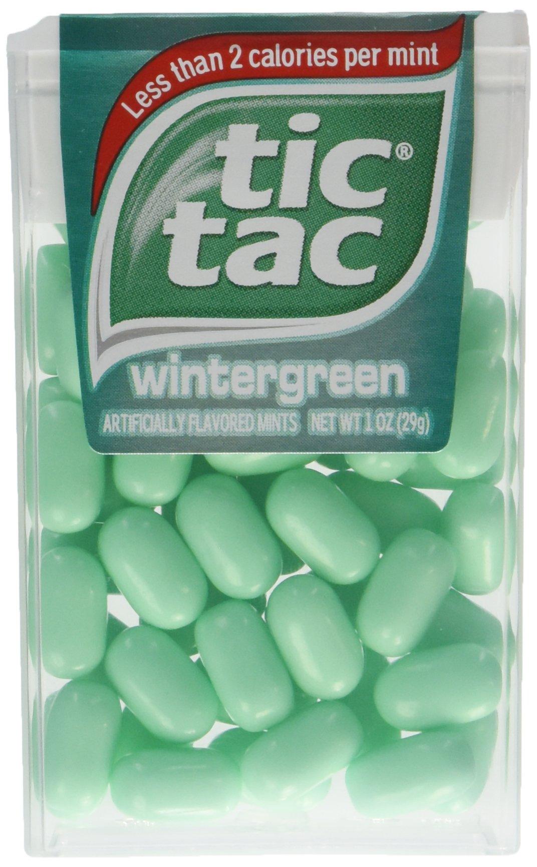 Tic Tac Mints, Wintergreen, 1 oz. (24 Count) by Tic Tac