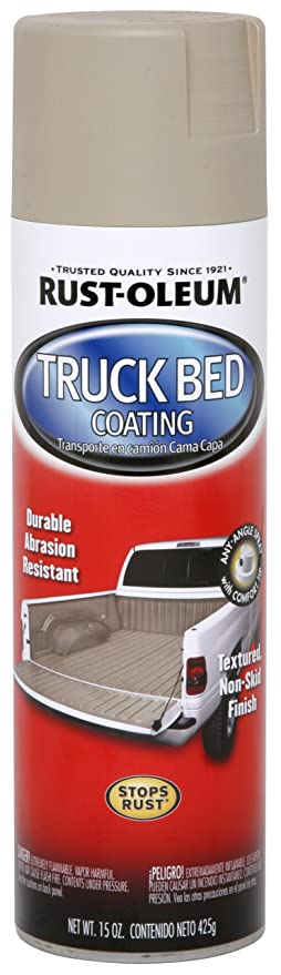 Rust Oleum Automotive Truck Bed Coating Spray Paint Tan