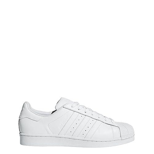 Adidas Superstar Foundation, Scarpe da Ginnastica Basse Uomo, Bianco Footwear White 0, 40