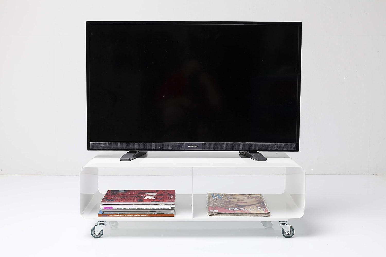 KARE Design Salone M TV Mobile, Blanco, 30 x 90 x 42 cm: Amazon.es: Hogar