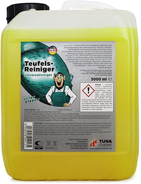 Tuga Chemie Tr 5 D Industriereiniger Kanne 5 L 5 Kg Auto