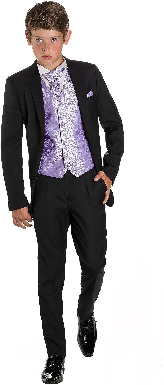 Paisley OF LONDON, Niños Negro Traje, ajustado traje, Remolino ...
