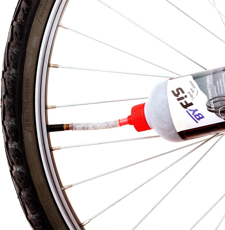 BYFIS Líquido para tubeless de Efecto inmediato. Antipinchazos ...