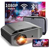 "1080P Projector - Artlii Energon 2 Full HD WiFi Bluetooth Projector Support 4K, 7000L 300"" Display, Compatible with HDMI…"