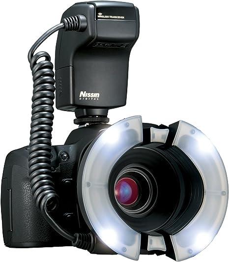 Nissin MF18 Canon - Macro Flash para Canon E-TTL (Pantalla LCD ...
