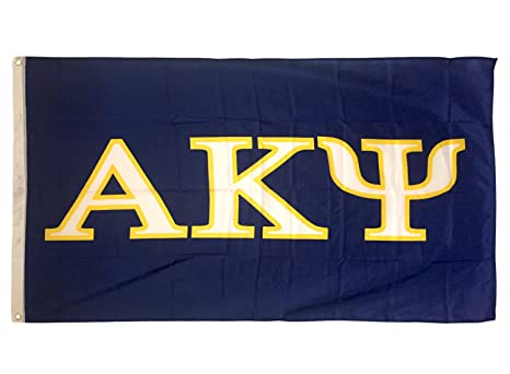 7fc32d2bf9c Amazon.com : Alpha Kappa Psi Letter Fraternity Flag Banner Greek ...