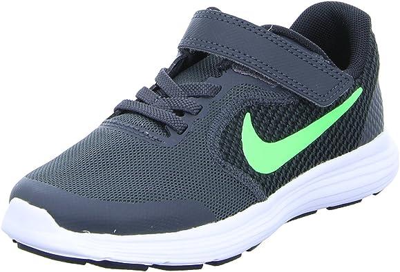 Nike Revolution 3 (PSV), Zapatillas de Deporte Unisex niño, Verde (Green), 15 EU: Amazon.es: Zapatos y complementos