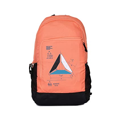39555b2fe7 Reebok Unisex Peach Junior Motion Training Laptop Backpack  Amazon.in  Bags