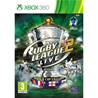NEW & SEALED! Rugby League Live 2 World Cup Edition Microsoft XBox 360 Game