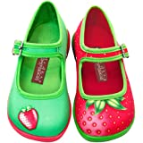 Hot Chocolate Design Mini Chocolaticas Strawberry Girls Mary Jane Flat
