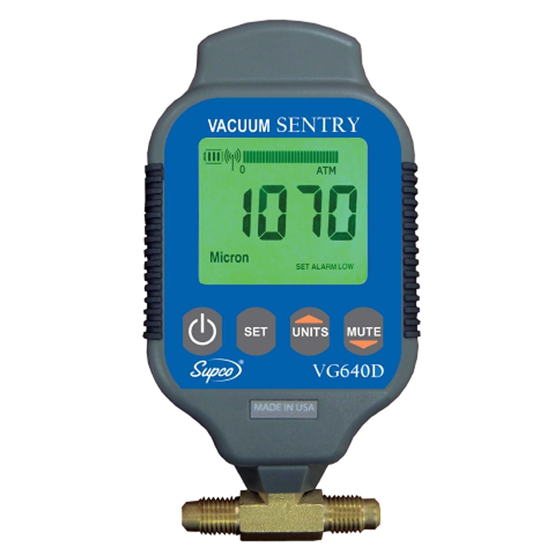 Supco VG640D Vacuum Gauge, -10% Accuracy
