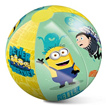 MINIONS Pelota Playa Hinchable 50cm (16483), Multicolor, 50 ...