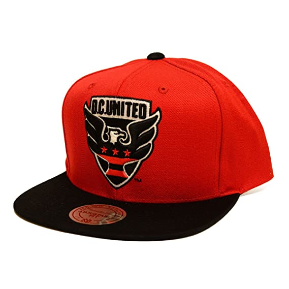 406eeffae18 Amazon.com   Mitchell   Ness MLS XL Logo 2 Tone Snapback Hat (One Size