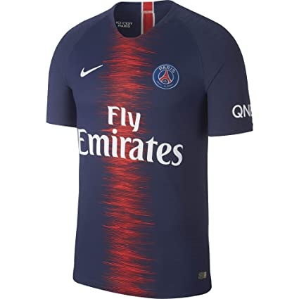 look for 50% off high fashion Nike 2018-2019 PSG Authentic Vapor Match Home Football Soccer T-Shirt  Maillot