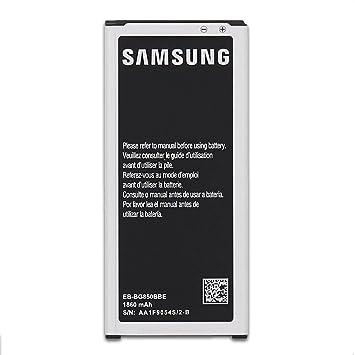 7386a0f7b Samsung batería para Galaxy Alpha/SM-G850, SM-G8508/SM-G8509V: Amazon.es:  Electrónica