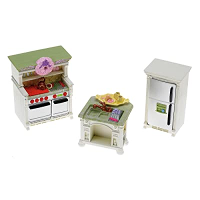 Fisher-Price Loving Family Dollhouse Kitchen: Toys & Games