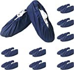 KX 10 Pairs Reusable Shoe Covers Boot Covers,Durable Cotton Material Non
