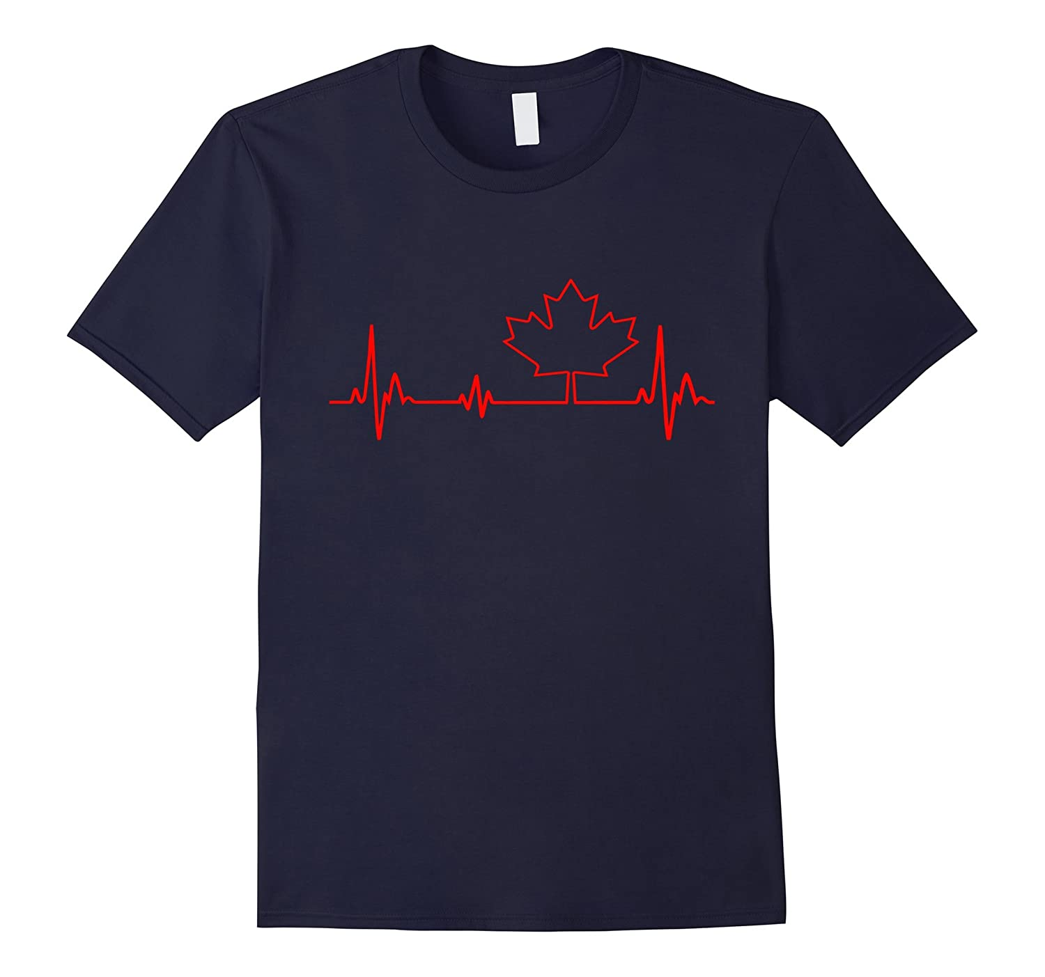 CANADA IN MY HEARTBEAT - CANADA T-SHIRT GIFT-CL