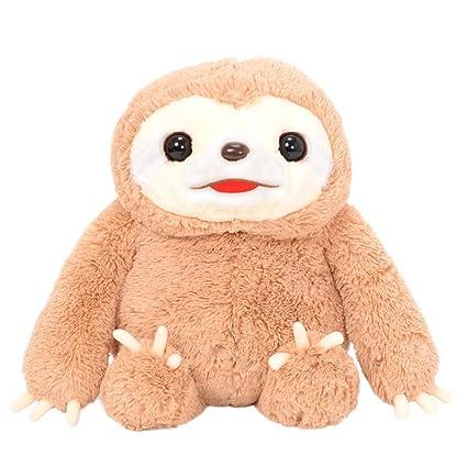 Amazon.com: Fiesta Toys – Perezoso Animal de peluche juguete ...