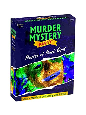 Amazon murder mystery party games murder at mardi gras toys murder mystery party games murder at mardi gras fandeluxe Image collections