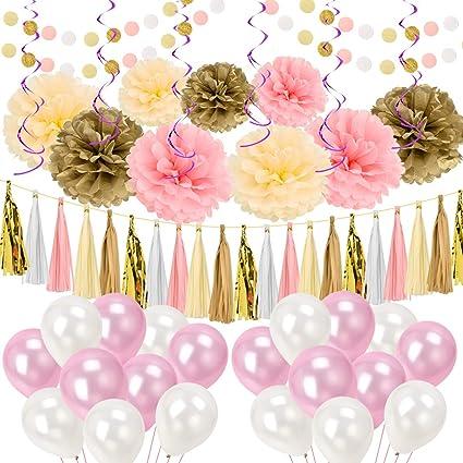 Amazon Artoper 62 Pcs Party Decoration Set Party Supplier Set