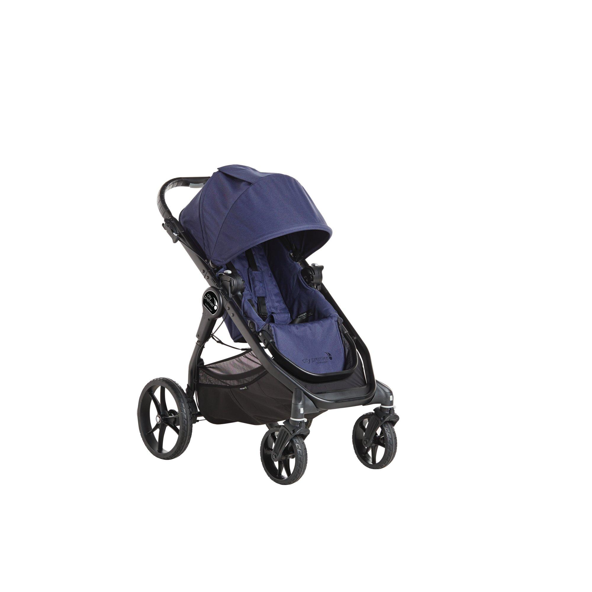 Amazon Com Baby Jogger City Premier Deluxe Pram Indigo