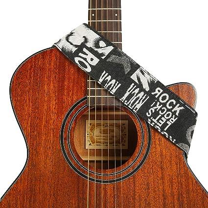 HEELE - Correa para guitarra acústica, diseño de tribus. Regalo ...