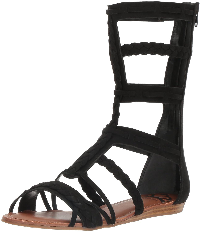 Fergalicious Women's Zaille Gladiator Sandal B01M5AT1JR 10 B(M) US|Black