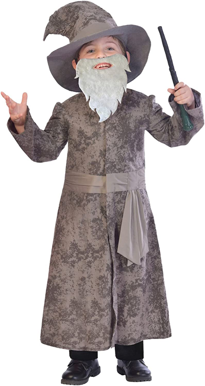 Adult DELUXE WIZARD HAT Potter Gandalf Witch Grey Fancy Dress Harry Book Week