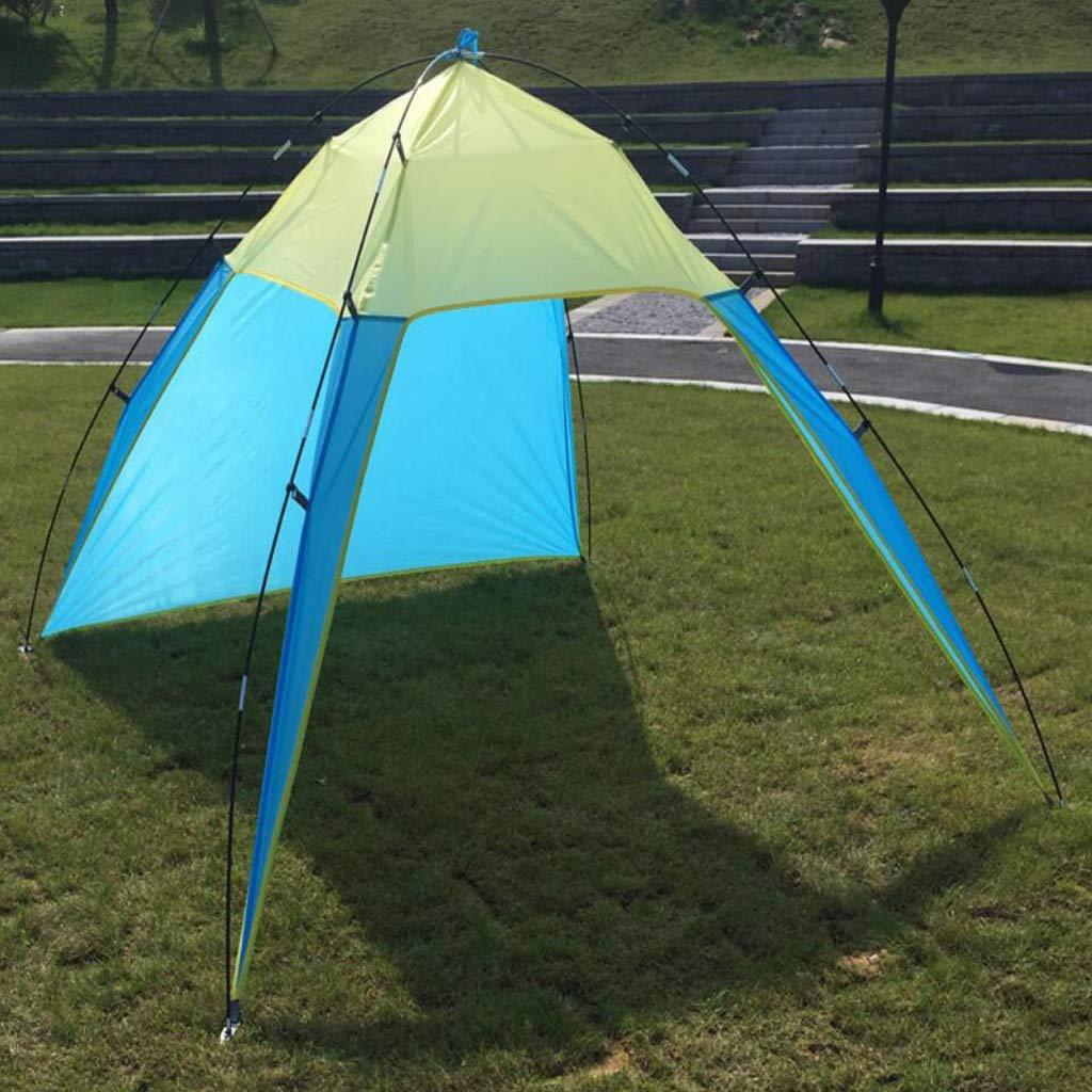 B Baosity Tente de Camping Plein Air en Polyester avec Sac de Rangement Hydrofuge Convient au Camping Plage Baln/éaires Jardin Randonn/ée 6.9x7.5x5.2 ft