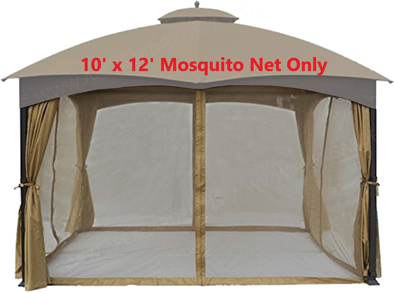 Universal 10 x 12 Gazebo de repuesto con mosquitera: Amazon.es ...
