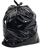 Plasticplace Black 40 - 45 Gallon Trash Bag, 40x46, 1.5 Mil, 100 Bags Per Case