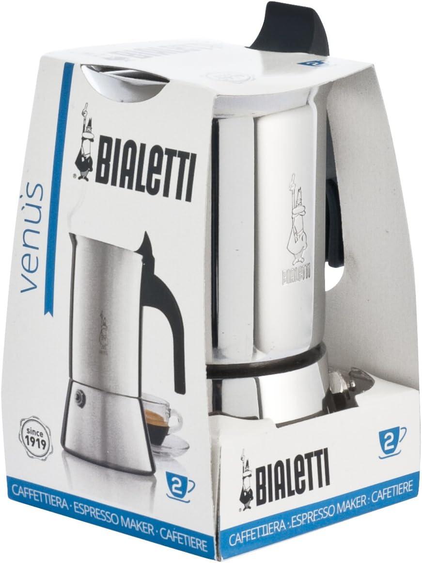 Bialetti 1708 - Cafetera Italiana, Color Gris: Amazon.es: Hogar