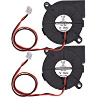 5015 Cooling Fan 50x50x15mm 12V/24V Brushless Fan Blower Fan 2-Pin Connector for 3D Printer Parts