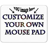 Personalized Mouse Pad - Add Pictures, Text, Logo or Art Design and Make Your own Customized Mousepad - Gaming, Office…