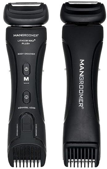 MANGROOMER - Lithium Max Plus+ Body Groomer, Ball Groomer & Body Trimmer