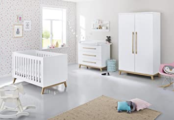 wei/ß Pinolino 103415B Kinderzimmer Riva breit