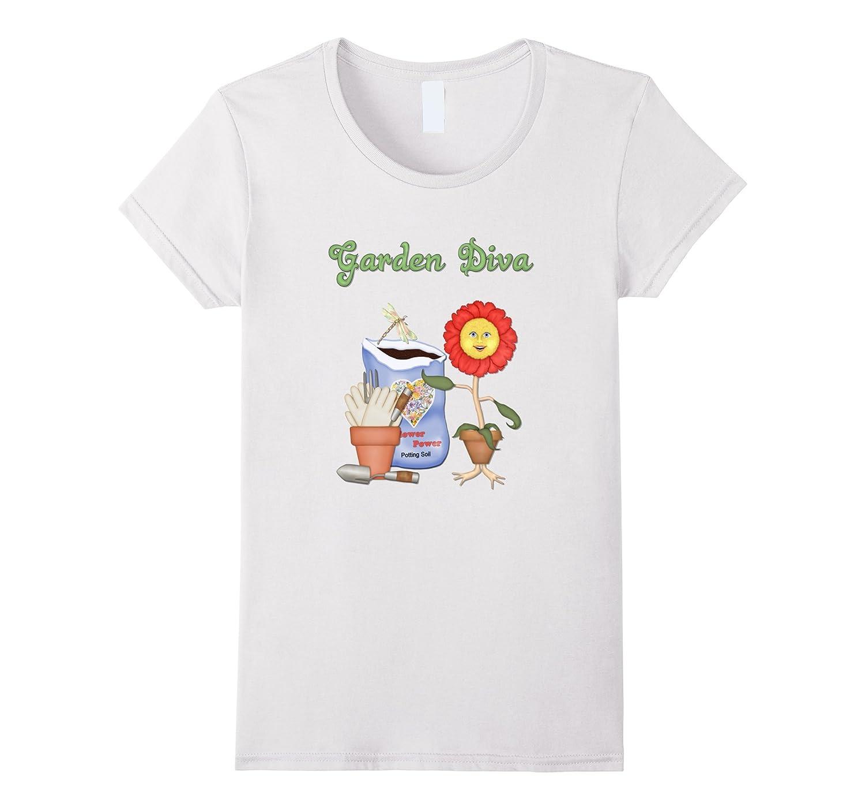 Garden Diva Gardening T-shirt