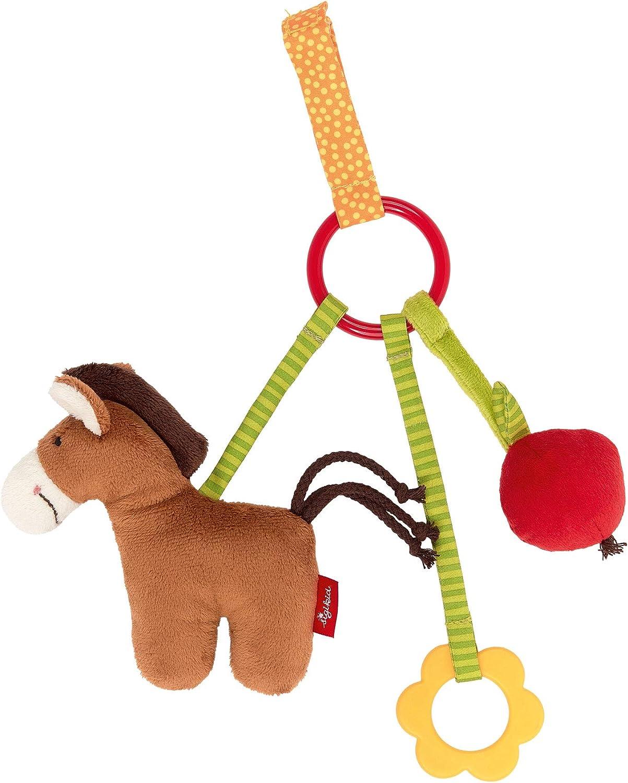 M/ädchen und Jungen sigikid Anh/änger Pferd Baby Activity Mehrfarbig 42305
